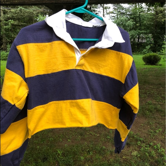 8591b65d94a VINTAGE rugby shirt Emma chamberlain lookalike. M_5b64caa60cb5aad24253de45